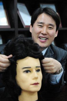 기부받은 머리카락으로 '사랑의 가발'