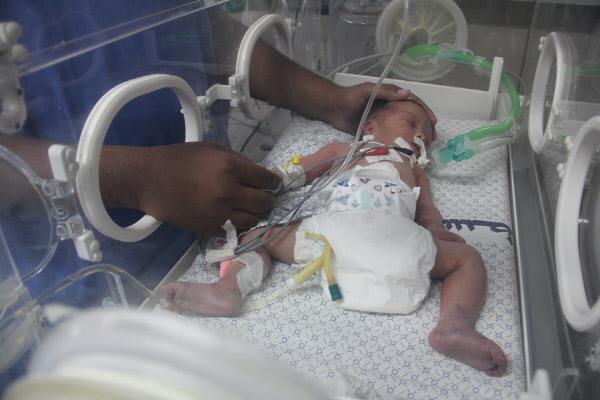 가자의 기적… 이스라엘 포격에 숨진 엄마의 혼이 지켜낸 새 생명