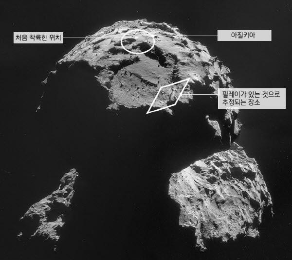 햇빛 못 봐 난관 부딪힌 혜성 탐사로봇…수명 오늘 안에 다할 수도 - 경향신문