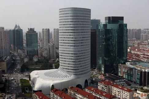 상하이의 루이비통 플래그샵 건물. 사진 사우스차이나모닝포스트