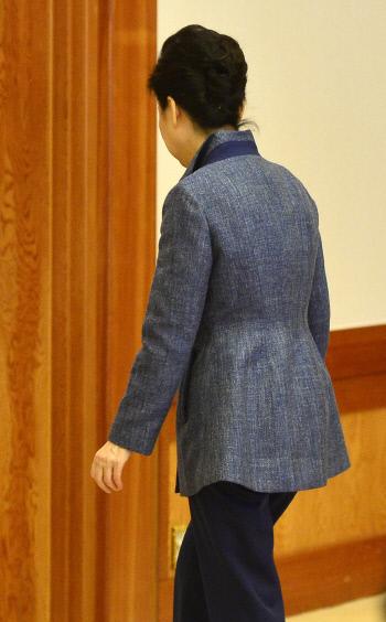 [최순실 국정농단]박 대통령, 외부일정 취소국정 '진공상태' 이어지나