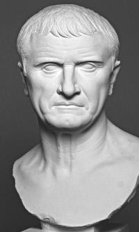 로마의 명연설가, 크라수스. 그는 뛰어난 변론가이자 수사학의 옹호자였다. 크라수스의 제자 키케로는 <연설가에 대하여>에서 그와의 대담을 바탕으로 연설가의 본질을 서술했다.