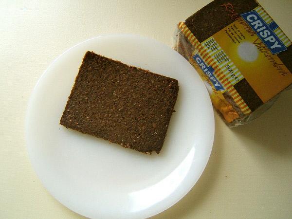 독일 베스트팔렌 지역에서 주로 만들어 먹던 거친 호밀빵 품퍼니켈 브레드/ 출처  위키피디아