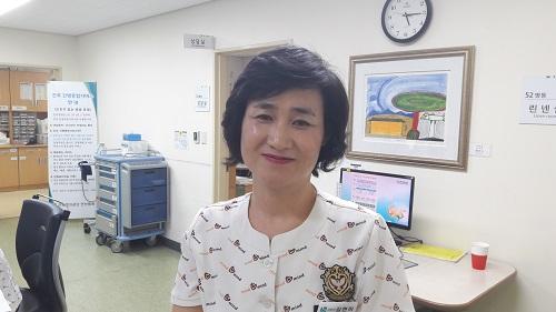 근로복지공단은 1200여 명의 간호사를 대상으로 엄격한 심사를 거쳐 제26회 나이팅게일상 수상자로 안산병원의 김현미 간호사를 선정했다.
