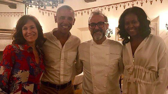 지난 9일에는 버락 오바마 전 미국 대통령 부부가 보투라의 라페토리오 엠브로시아노를 찾았다. 마시모 보투라 인스타그램