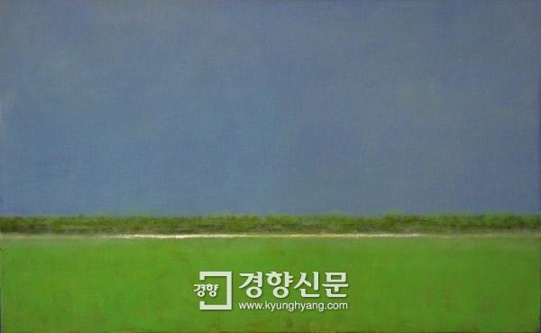 김일권의 '2016.04.07', 122×77㎝, 캔버스에 오일.