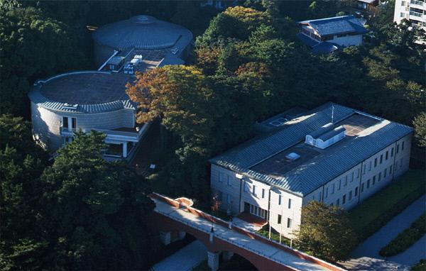 요코하마에 있는 가나가와근대문학관. 가나가와근대문학관 홈페이지