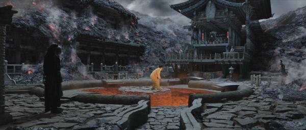 영화 <신과함께-죄와 벌>에서 주인공 자홍이 처음으로 가게 되는 살인 지옥.사진·롯데엔터테인먼트 제공