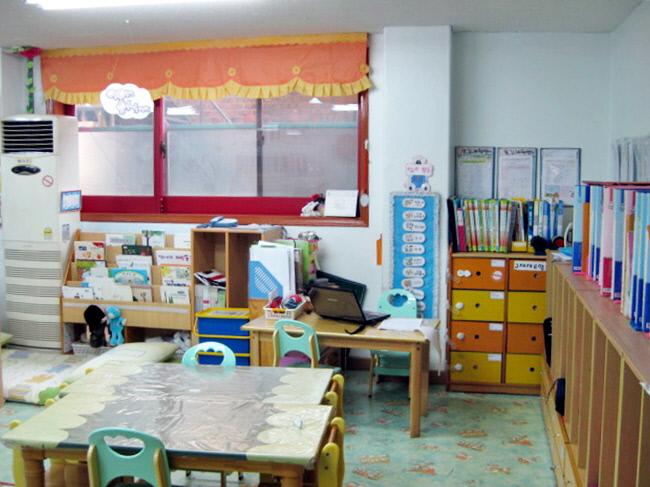 어린이집 교실. | 경향신문 자료사진