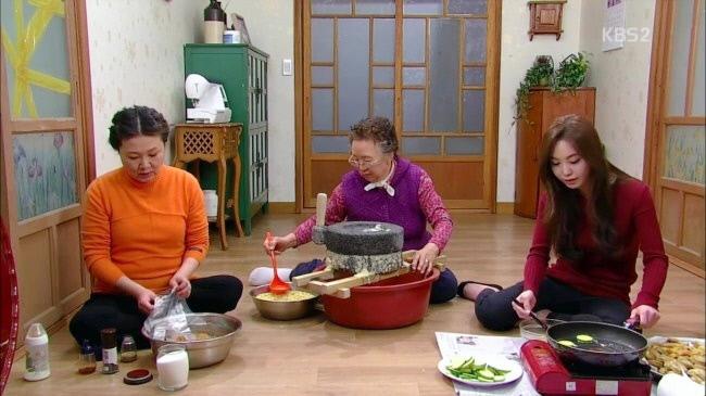여성들만 명절 음식을 준비하는 장면이 등장한 KBS2 드라마 <왕가네 식구들>