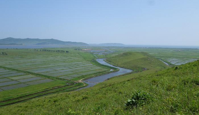 북한이 람사르습지 등재를 신청한 함경북도 두만강 하구의 라선철새보호구의 모습. 람사르협약 사무국 제공