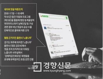"""""""배후설의 열쇠는 자금출처"""" 경찰 민주당원 댓글 조작 의혹 계좌추적 영장"""