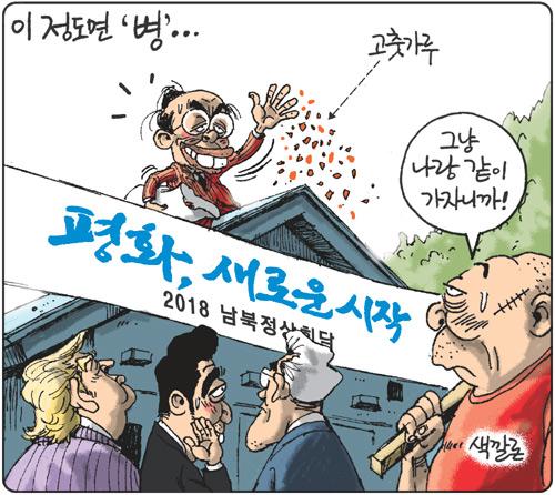[김용민의 그림마당]2018년 4월 26일