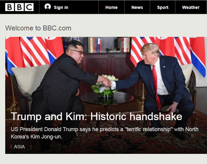 BBC 홈페이지 캡처