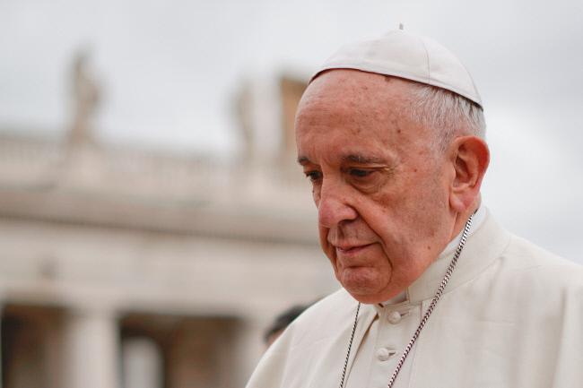프란치스코 교황. AP연합뉴스