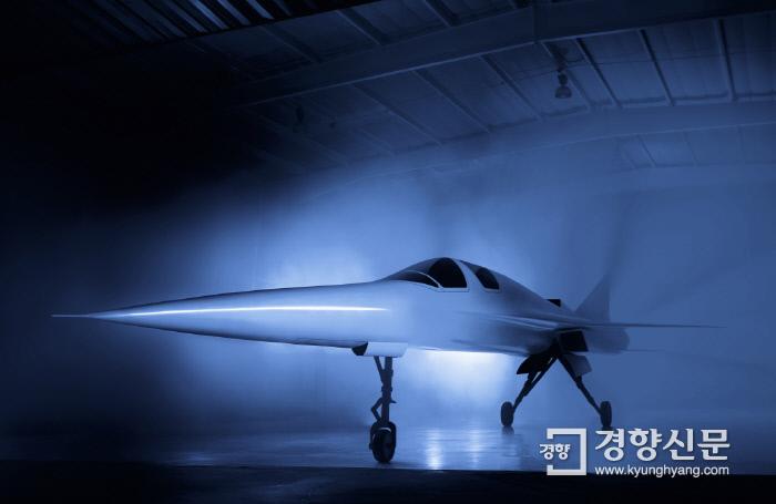 붐슈퍼소닉사가 개발 중인 차세대 초음속 여객기 시제기 XB-1. 붐슈퍼소닉 홈페이지