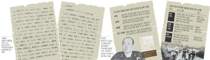 [5공 전사]상부 지시로 광주역서 첫 발포…신군부 핵심이 증언 '물증'