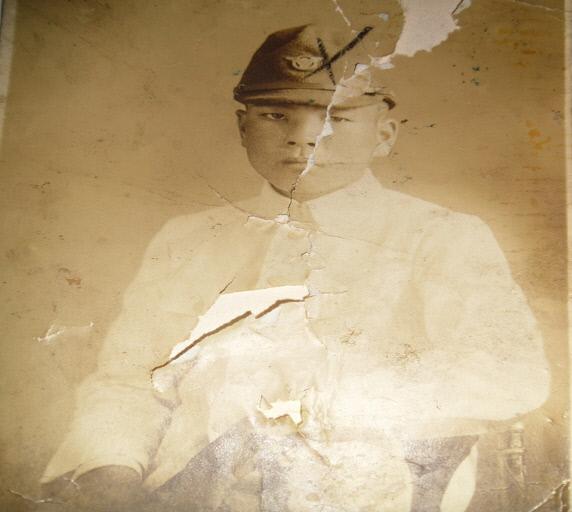 유가족이 보관중인 故 박태홍 일병의 어린시절 모습. 국방부 유해발굴감식단 제공
