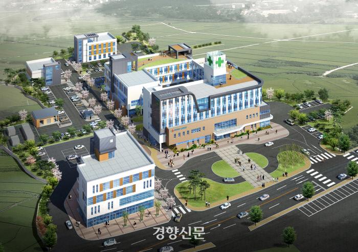인천 강화군에서 7일 개원하는 비에스종합병원 조감도.|비에스종합병원 제공