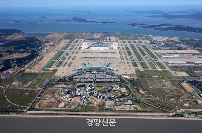 인천공항 전경.|인천국제공항공사