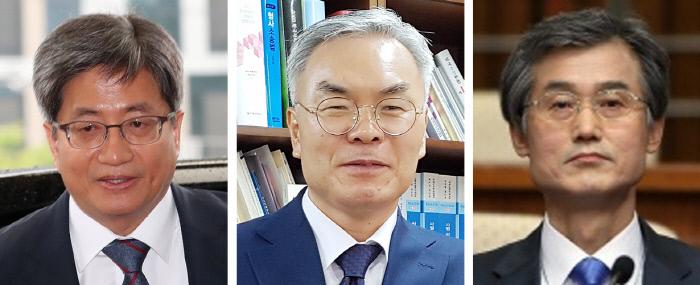 김명수 대법원장 | 김선수 대법관 | 조희대 대법관