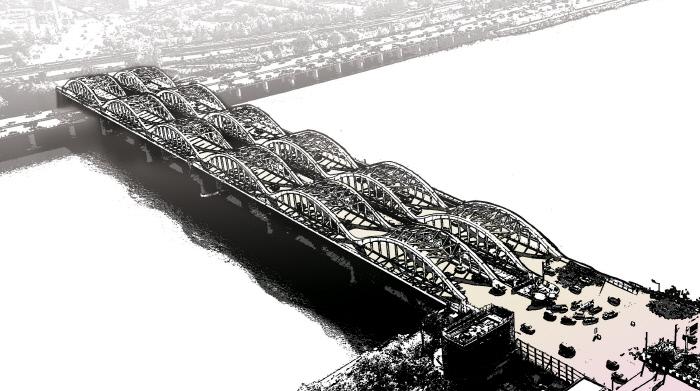 """[손아람 작가의 다리를 걷다 떠오르는 생각](1)""""천만 도시 관통하는 아름다운 강, 그 적막함에 이방인들은 놀란다"""""""