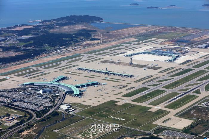 인천공한 전경.|인천국제공항공사 제공