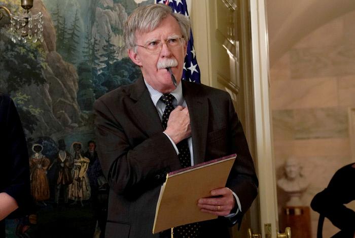 존 볼턴 미국 백악관 국가안보보좌관. |로이터연합뉴스