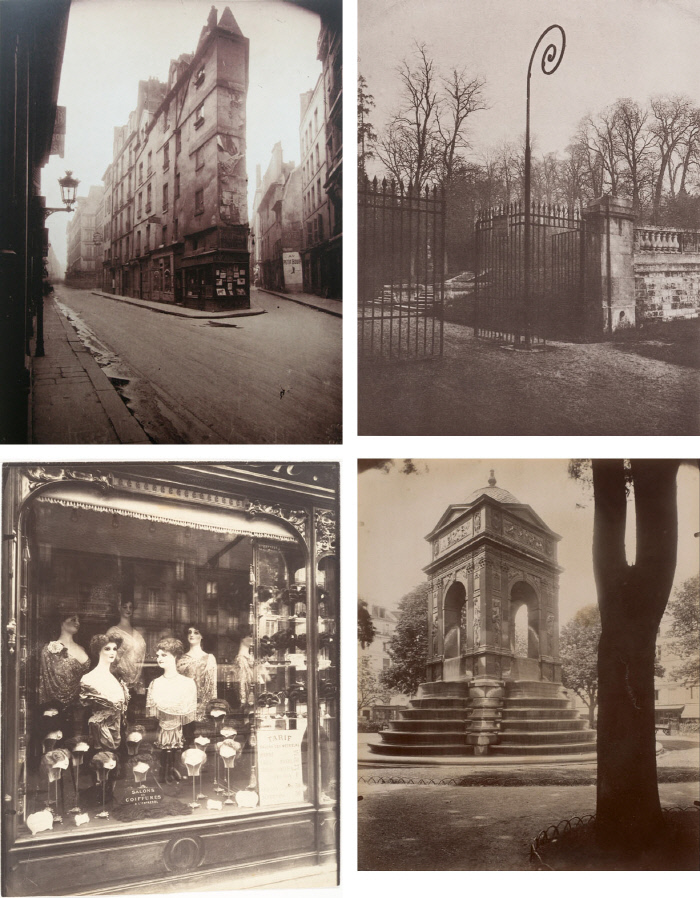 18세기 말에서 19세기 초반에 외젠 아제가 촬영한 파리의 모습들이다. / Eugene Atget