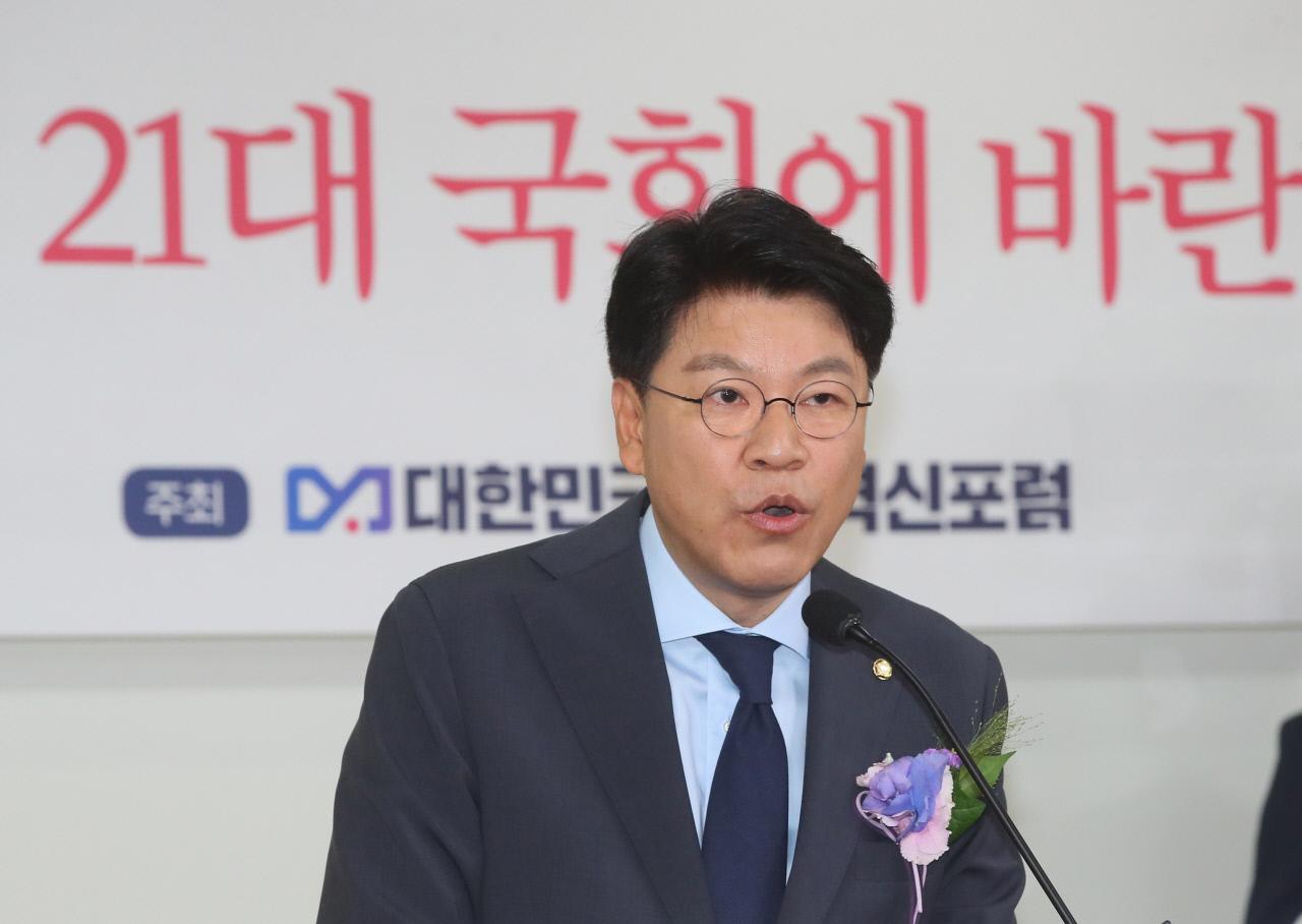 """장제원 """"김종인, 대권후보 수수께끼 놀이할 땐가"""""""