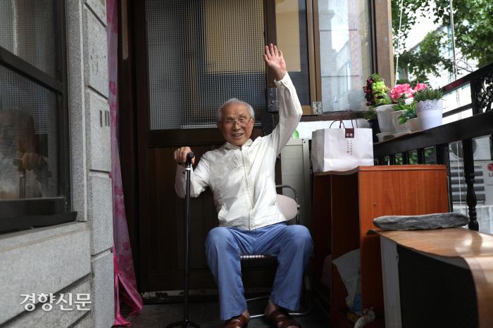 2018년 7월 17일, 인천 부평 자택에서 만난 박종린 선생/정지윤 기자