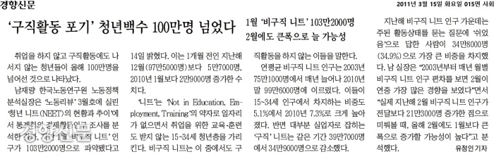 [오래전이날]    در 15 مارس ، NEET بیش از 1 میلیون نفر را تحویل داد.