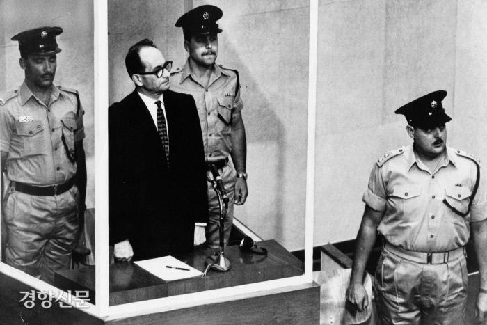 آدولف آیشمن در دادگاه