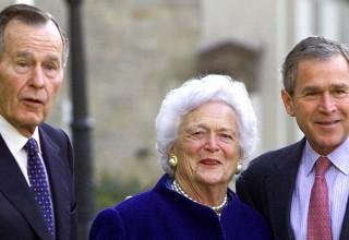 '미국 대통령의 아내이자, 대통령의 어머니' 바버라 부시 여사 92세로 타계