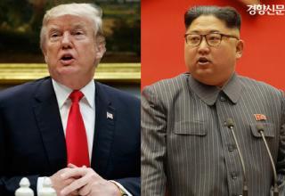 """트럼프 """"북한과 리비아 모델은 다르다"""" """"비핵화 합의하면 김정은 안전 보장할 것"""""""