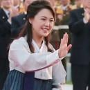 시진핑 주석 북한 방문에 한복 입은 리설주