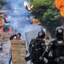 코로나19와 콜롬비아 유혈사태