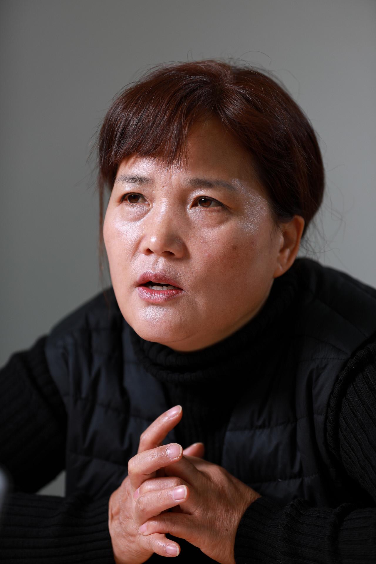 """""""국가가 정말 용균이를 위로하고 싶다면···"""" 김미숙 김용균재단 이사장"""