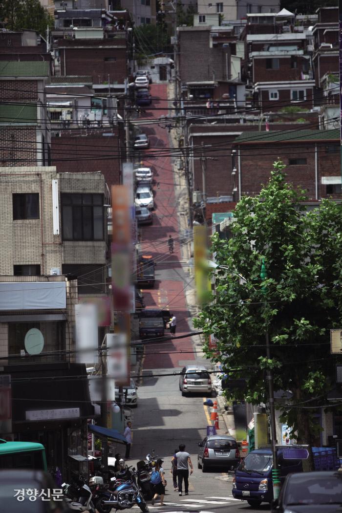 다세대주택 밀집지역 / 경향신문 자료사진